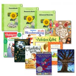 Third Grade Curriculum Package Plus Readers   Oak Meadow Bookstore