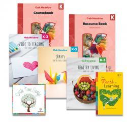 Kindergarten Curriculum + K-3 Essentials Package | Oak Meadow Bookstore