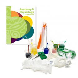 Human Anatomy & Physiology Course Package with Lab Kit (no textbook)
